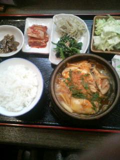 Xmasも韓国料理!